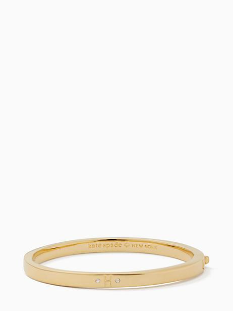 Kate Spade One In A Million Initial Bangle In H