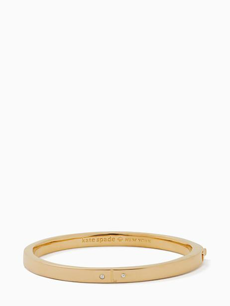 Kate Spade One In A Million Initial Bangle In L