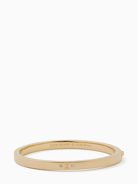 Kate Spade One In A Million Initial Bangle In R
