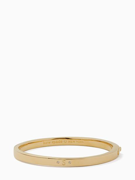 Kate Spade One In A Million Initial Bangle In S