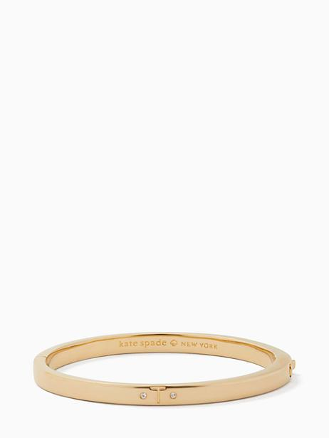 Kate Spade One In A Million Initial Bangle In T
