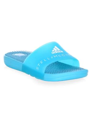 780b668aafee ADIDAS BY STELLA MCCARTNEY. Adissage Slide Sandal With Massaging Footbed in  Blue