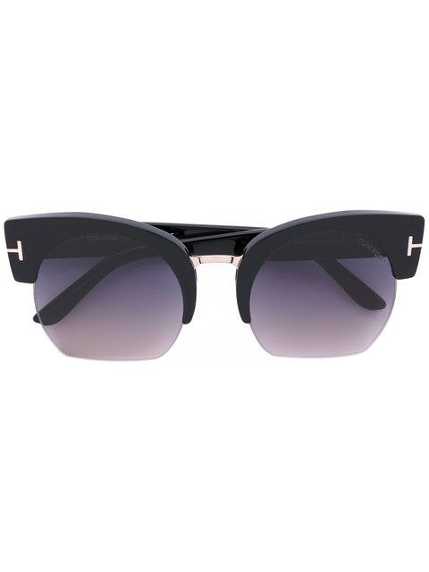Tom Ford Eyewear Savannah Sunglasses - Black