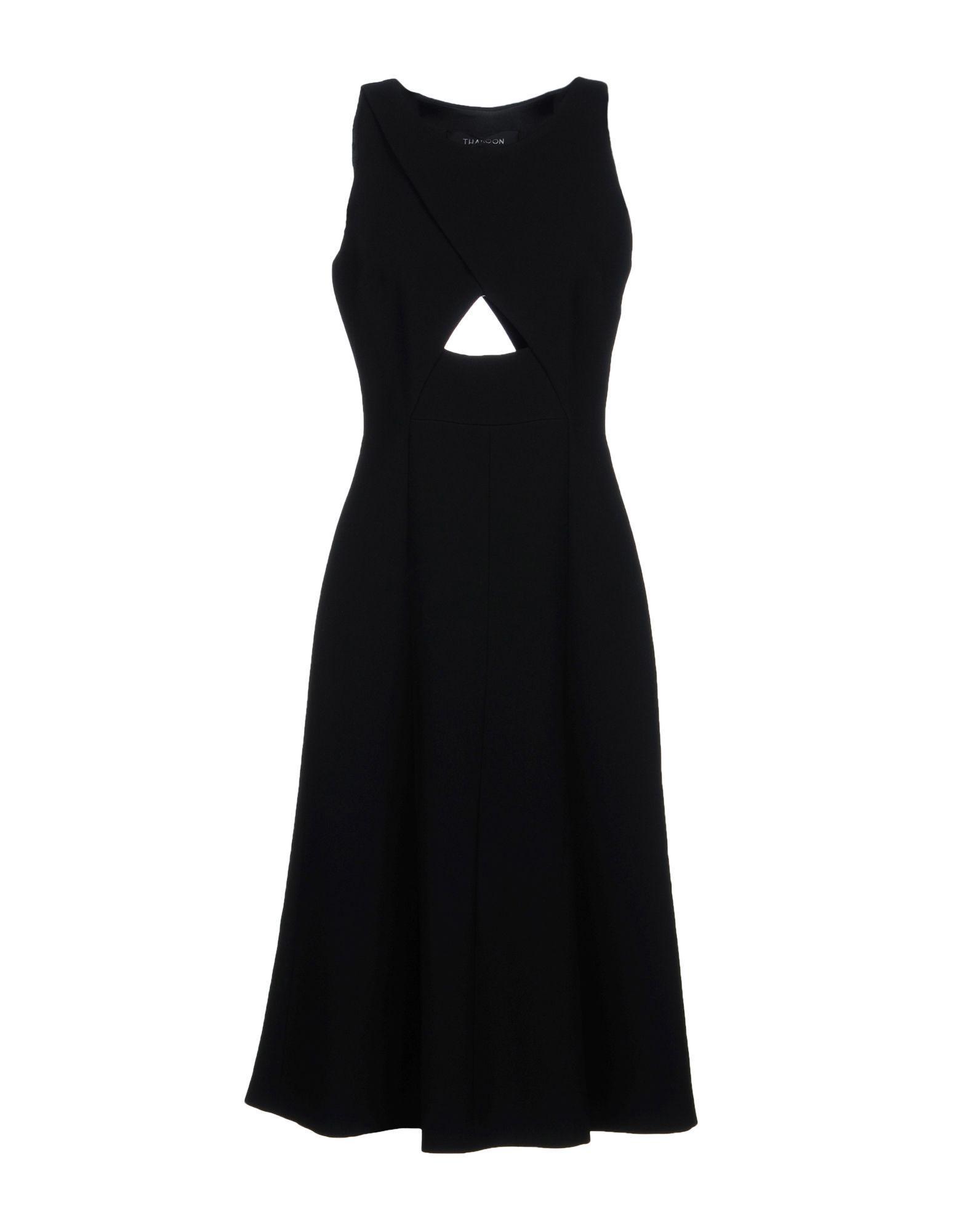 Thakoon Knee-length Dress In Black