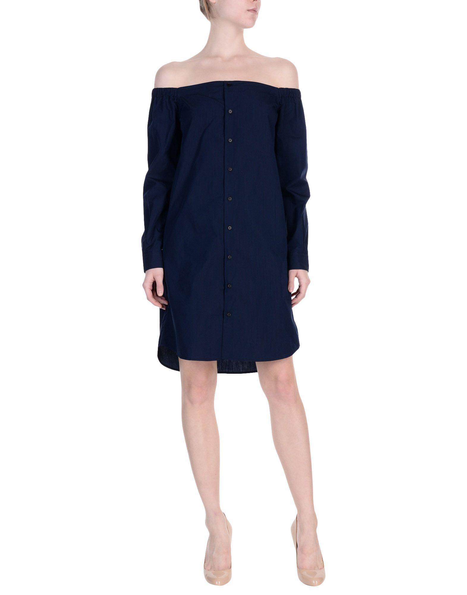 Diesel Black Gold Short Dresses In Dark Blue