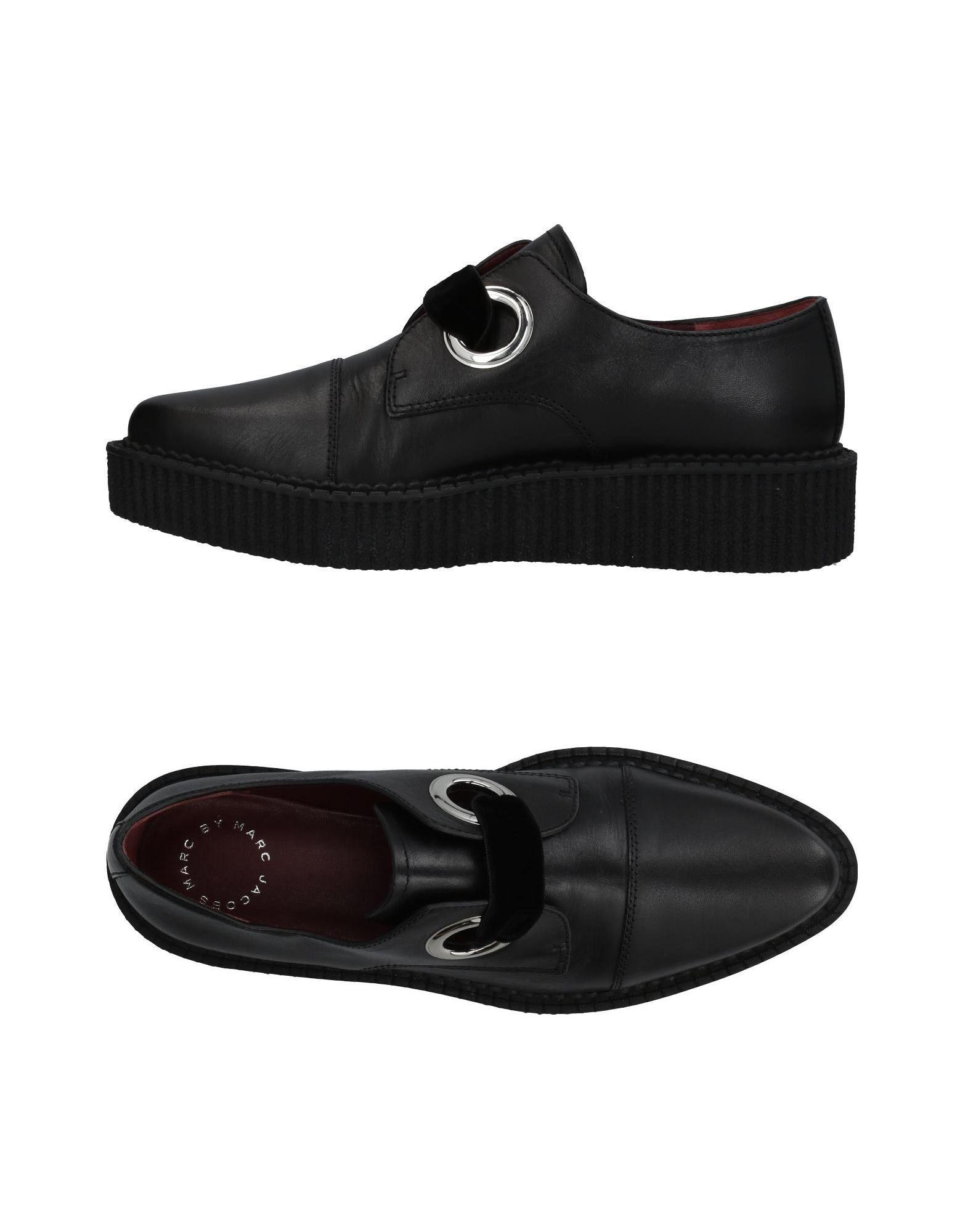 Marc By Marc Jacobs Lace-Up Shoes In Black