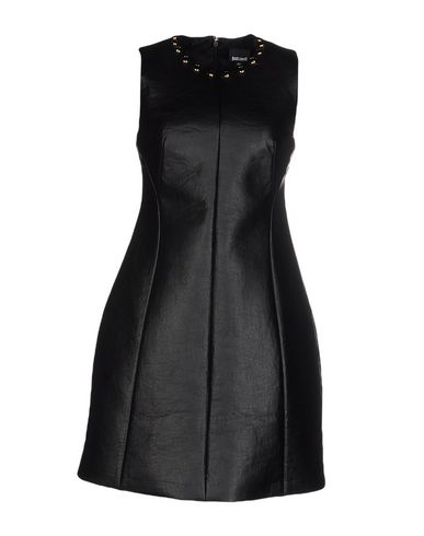 Just Cavalli Short Dress In Black