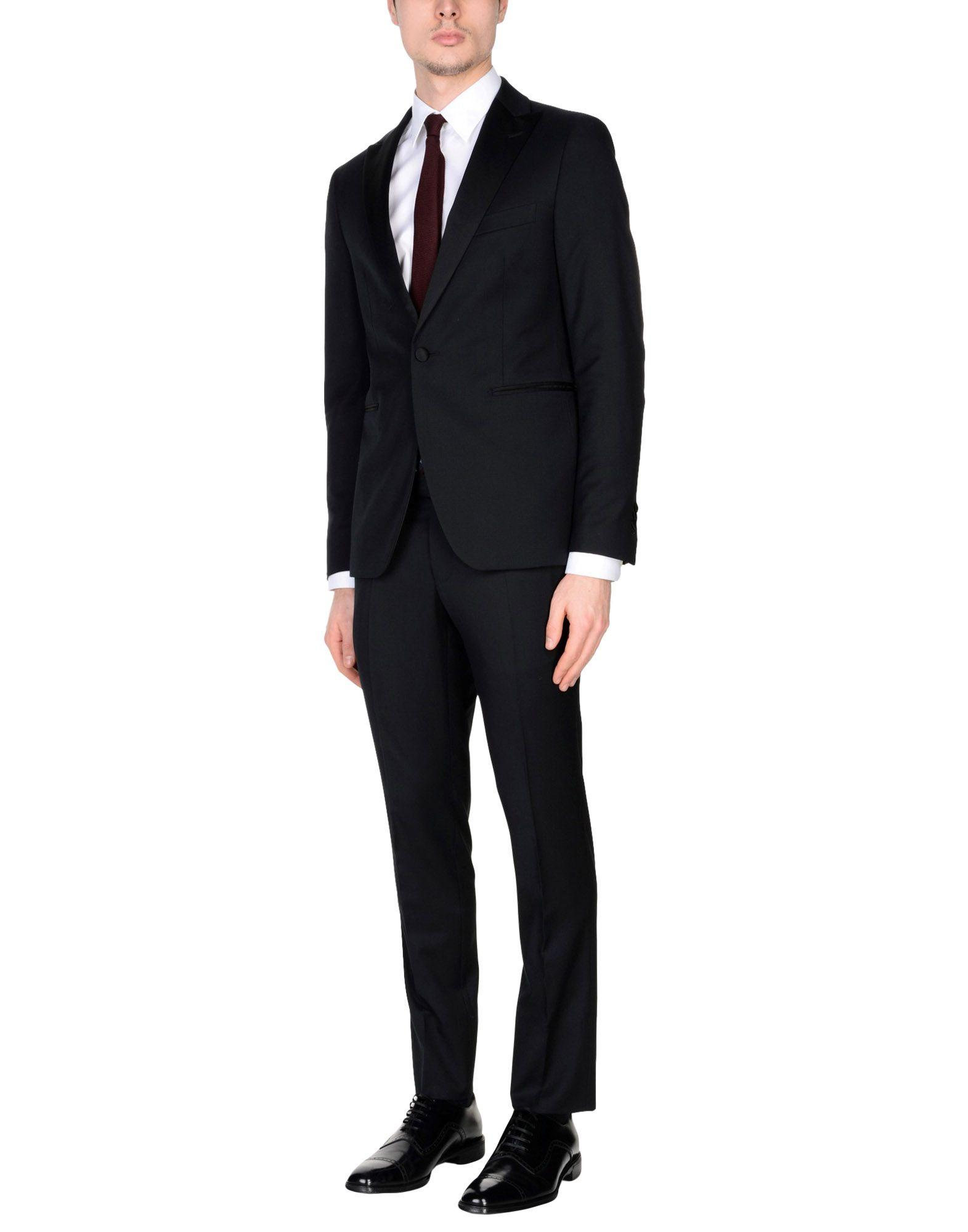 Tagliatore Suits In Black