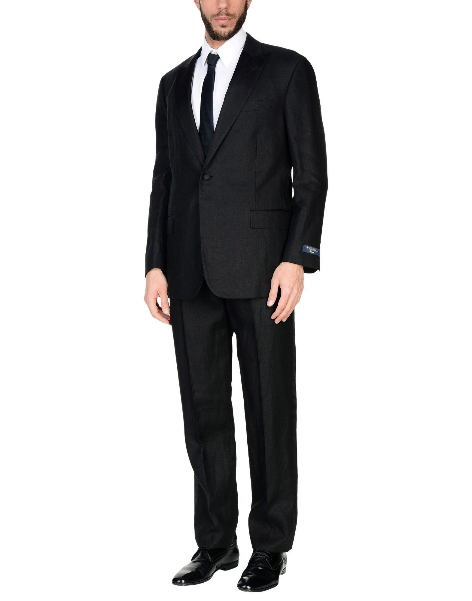 Brooks Brothers Suits In Black