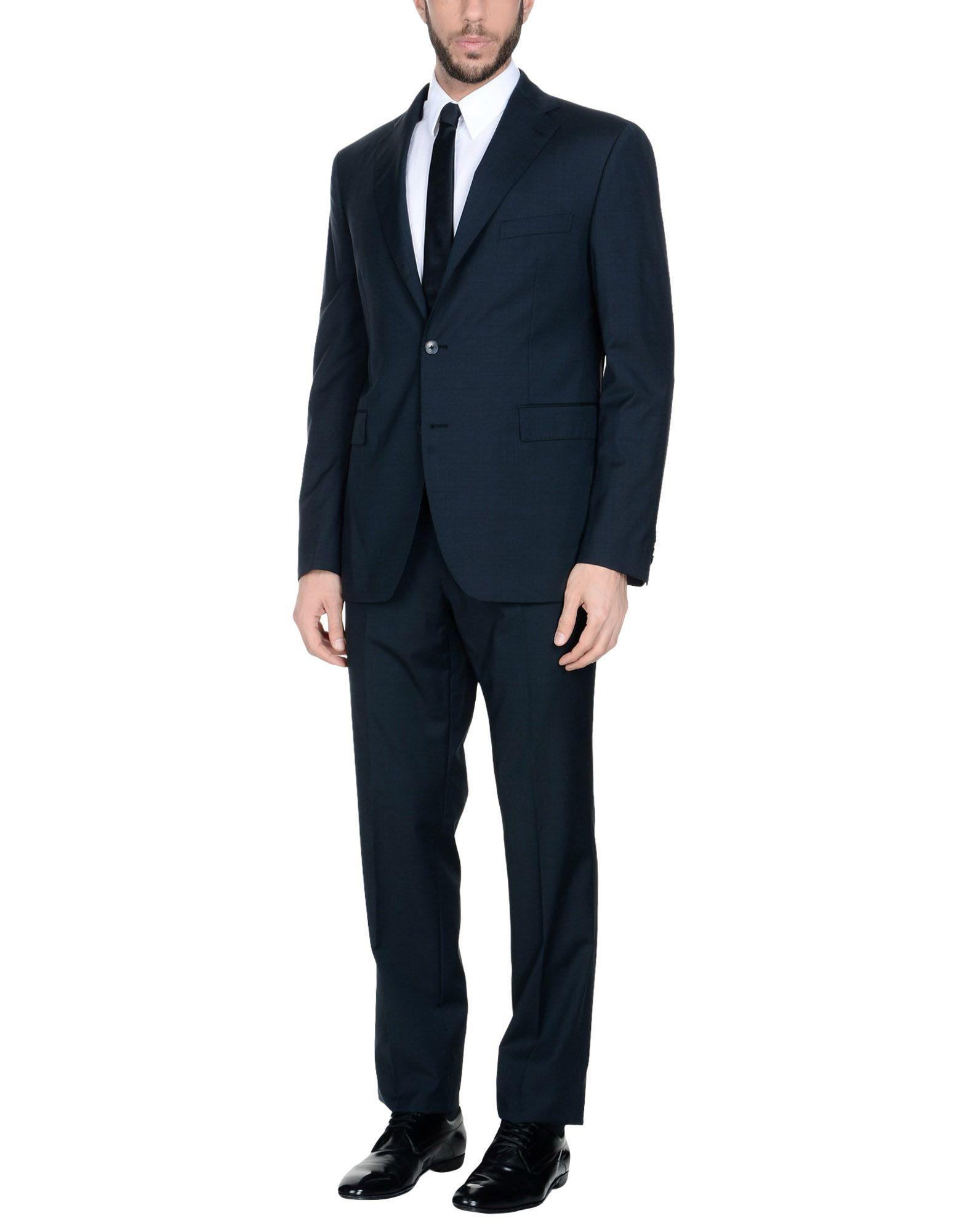Tagliatore Suits In Dark Blue