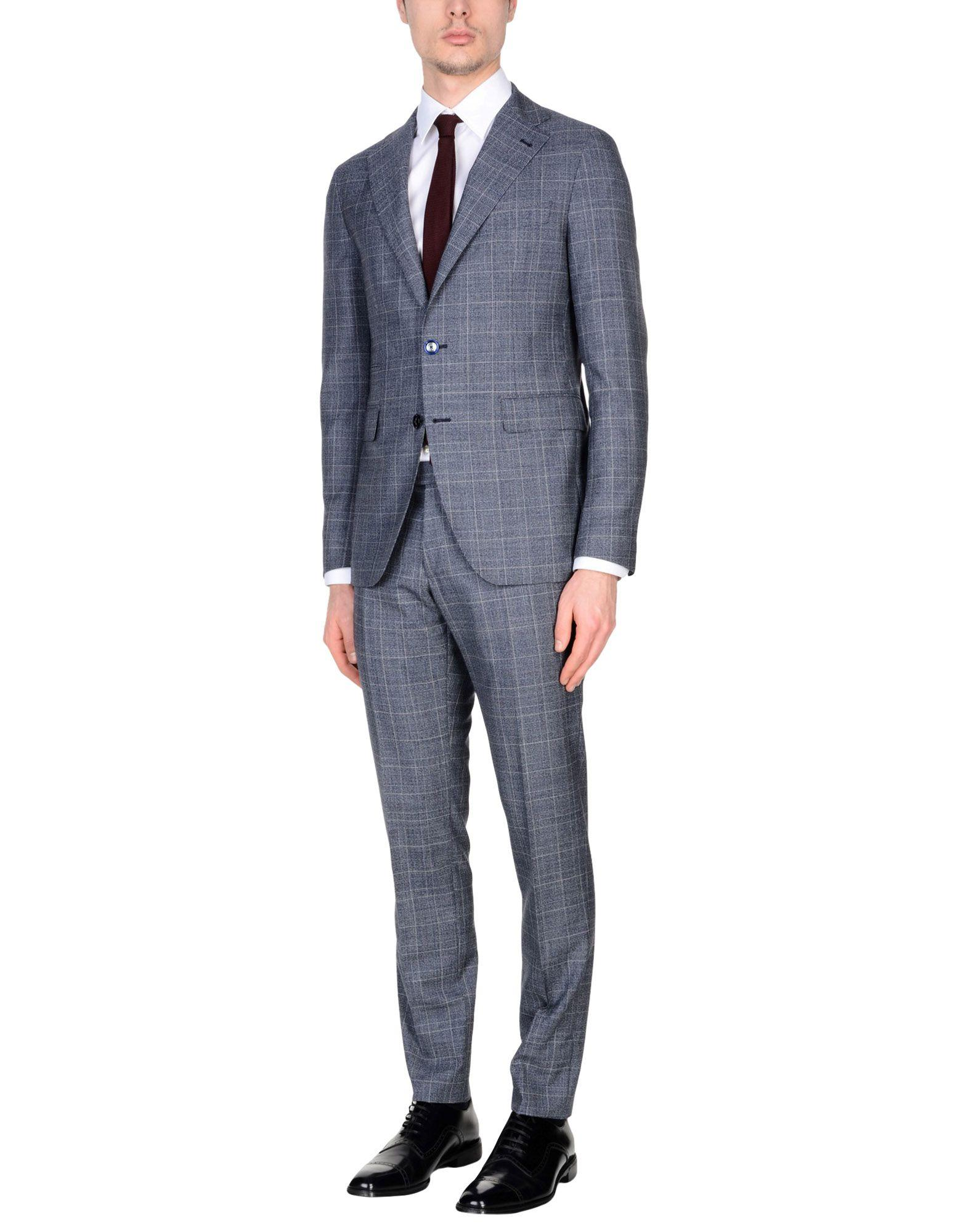 Tagliatore Suits In Blue