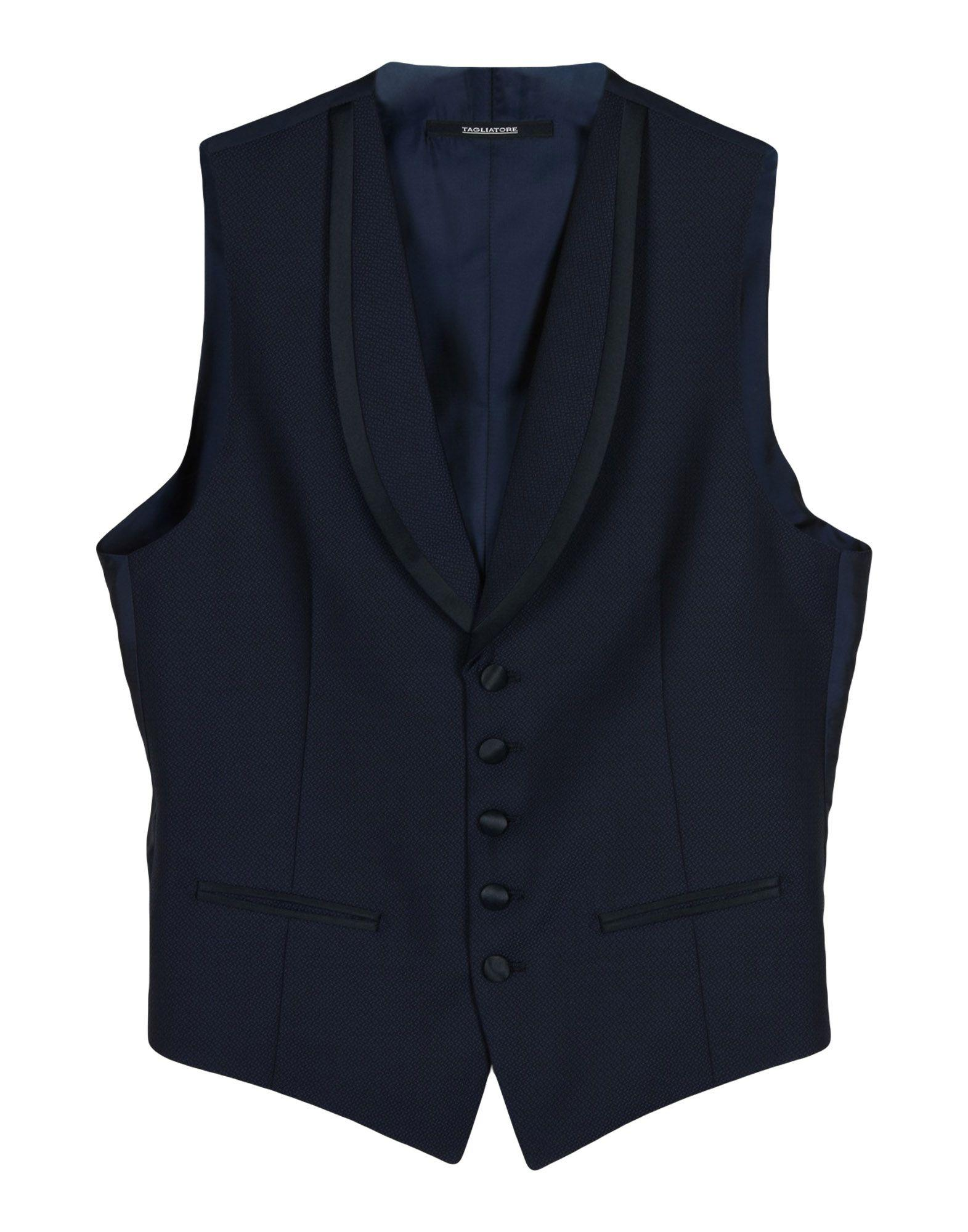 Tagliatore Vest In Dark Blue