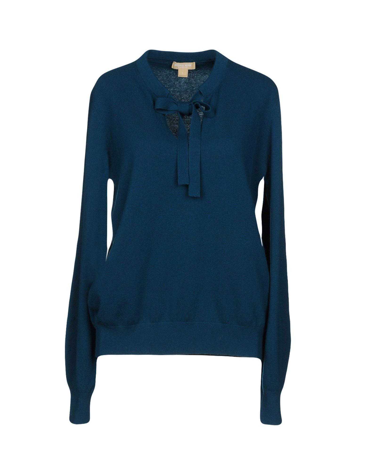 Michael Kors Sweater In Deep Jade