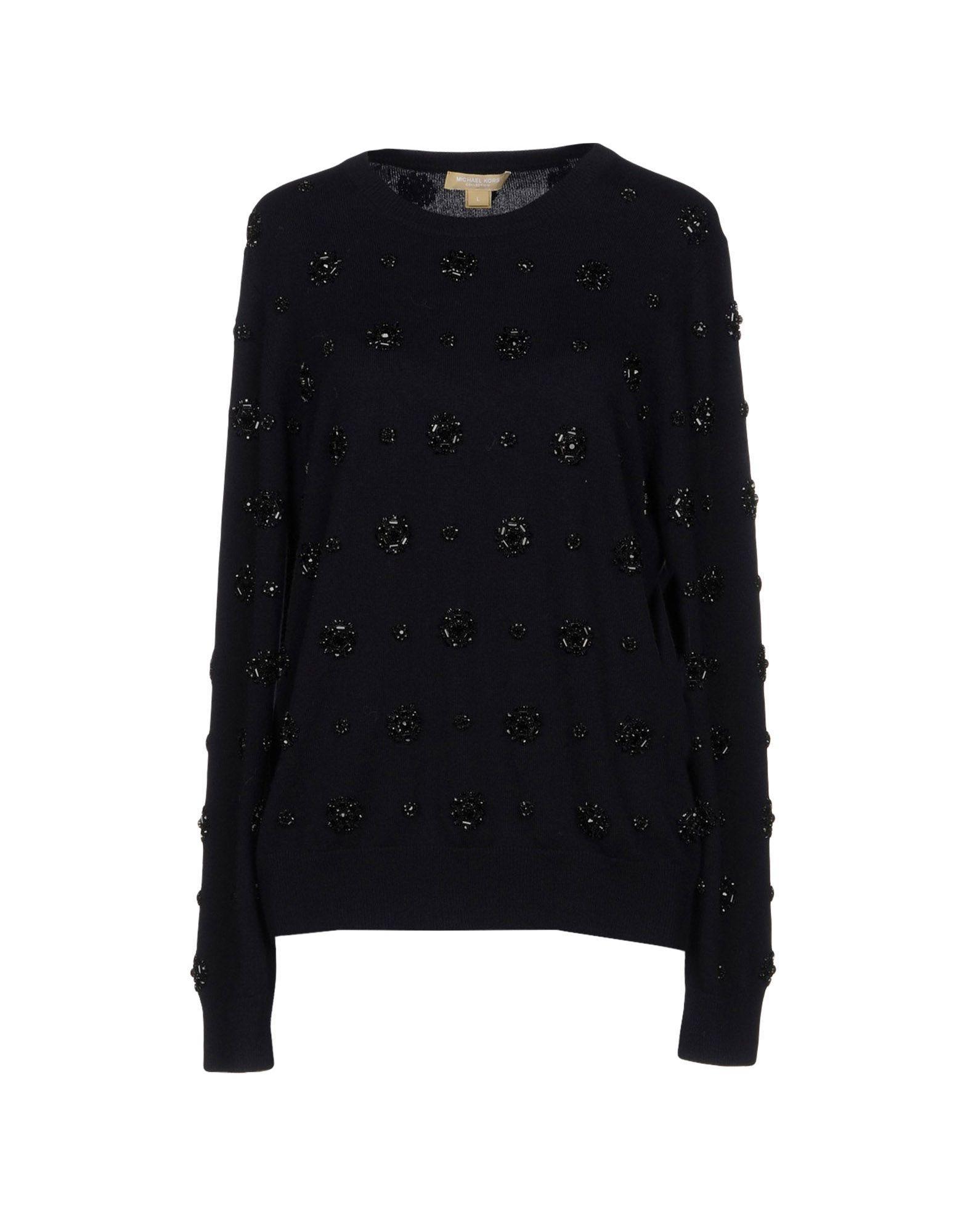 Michael Kors Sweaters In Dark Blue