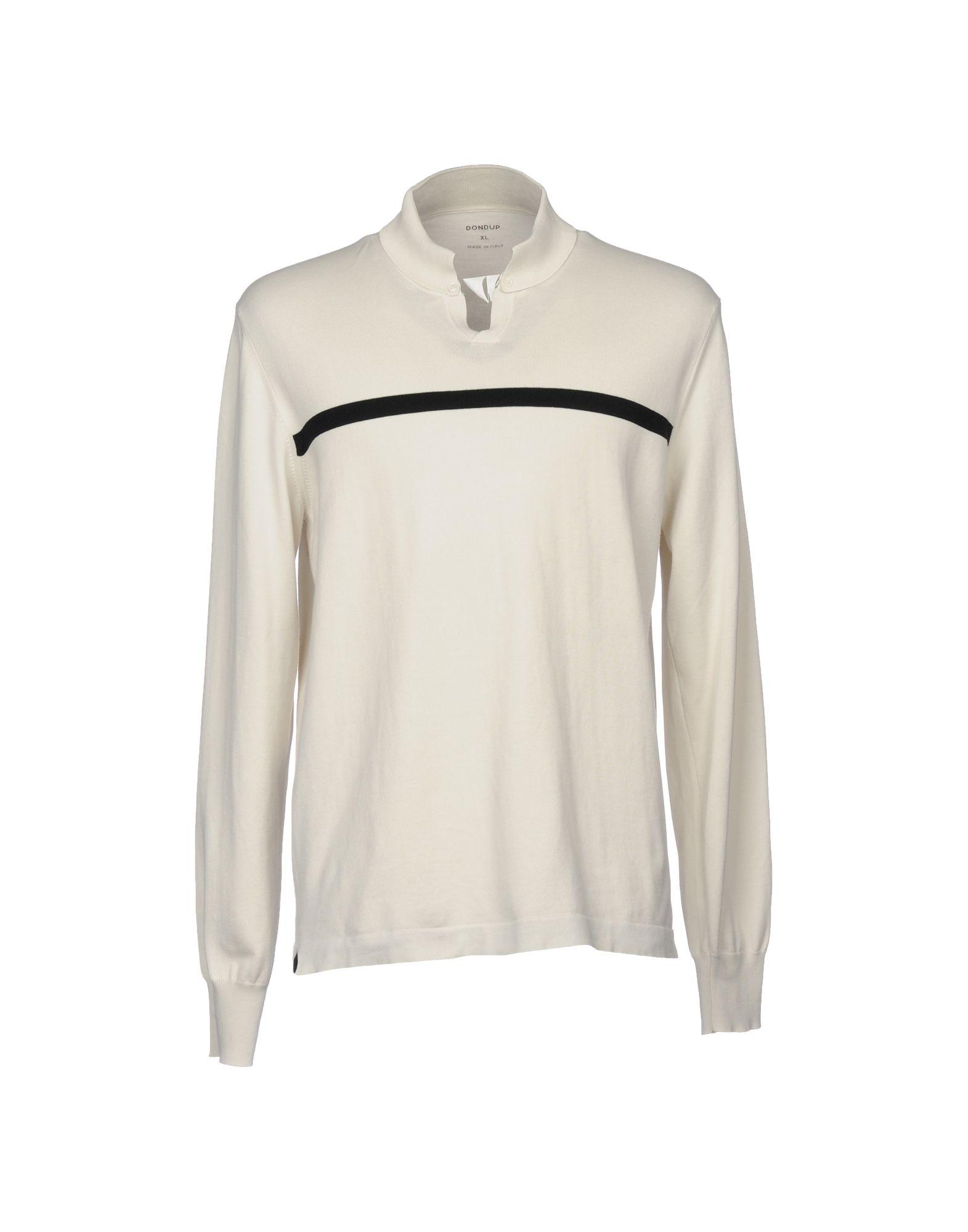 Dondup Sweaters In Ivory