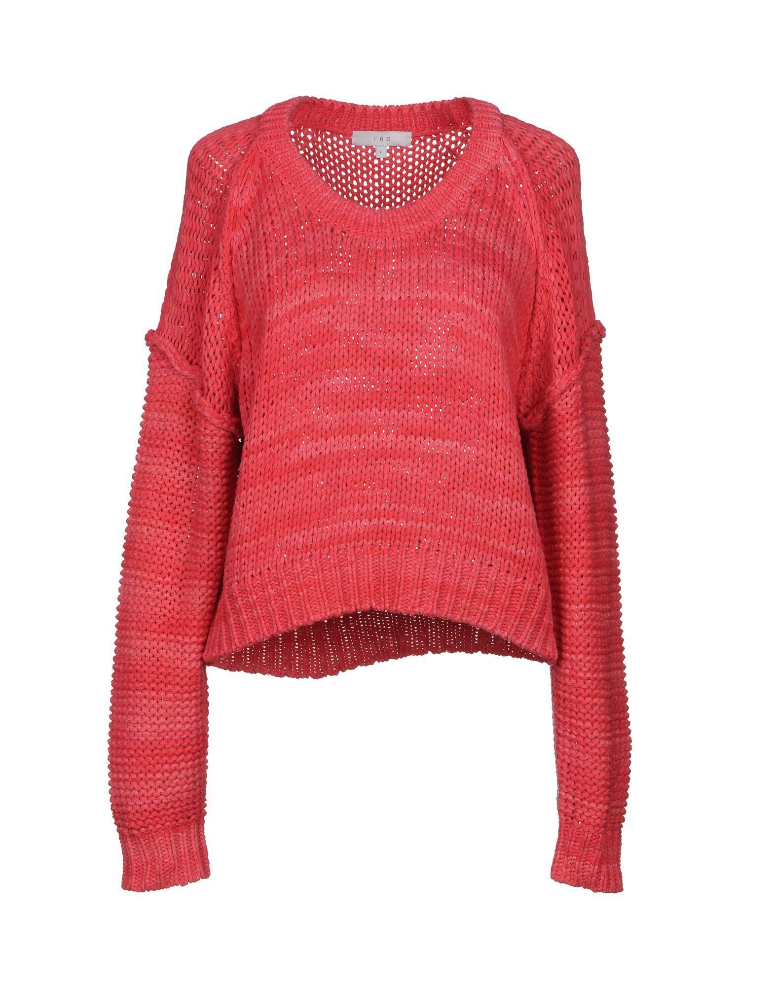 Iro Sweater In Fuchsia