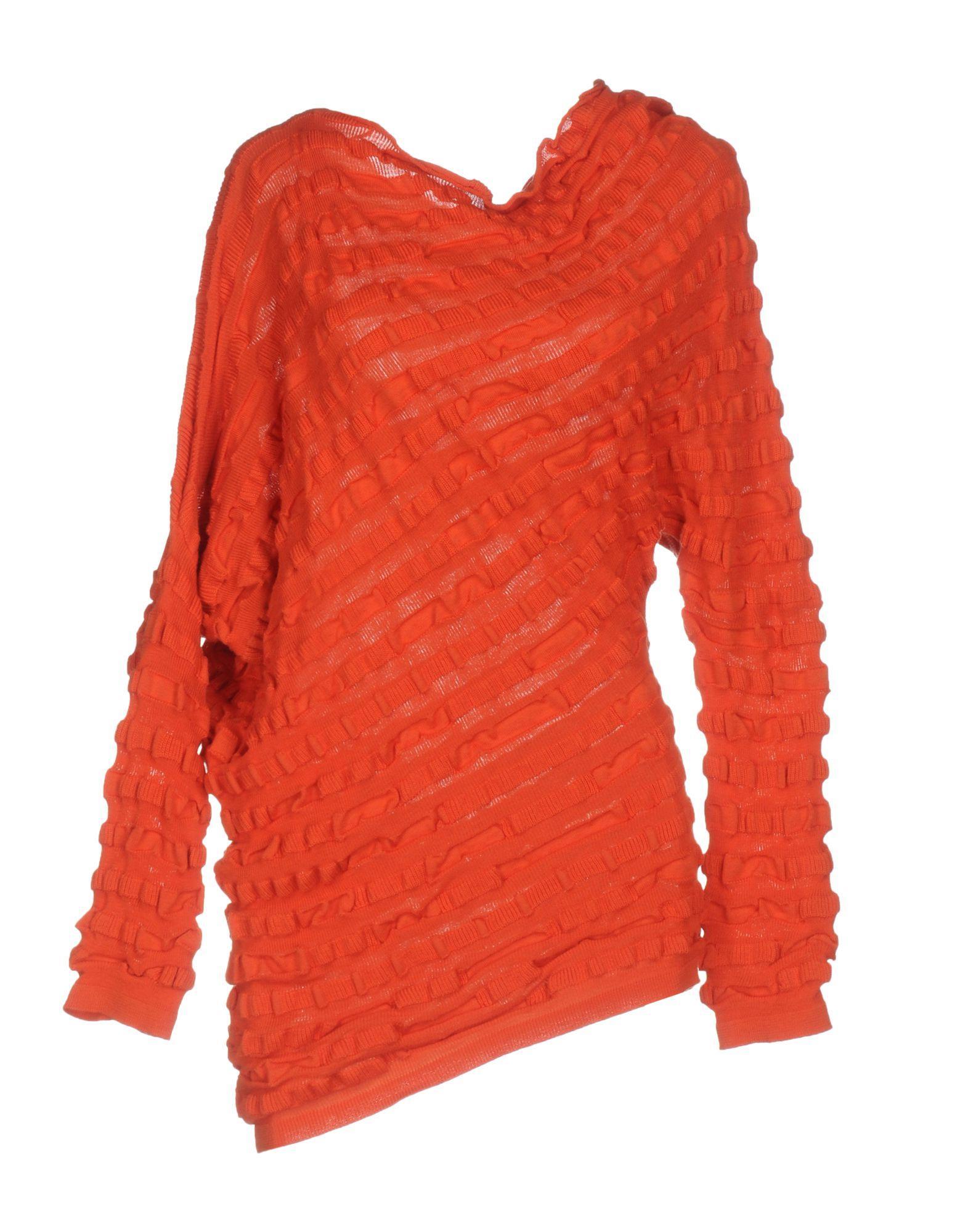 Liviana Conti Sweater In Orange