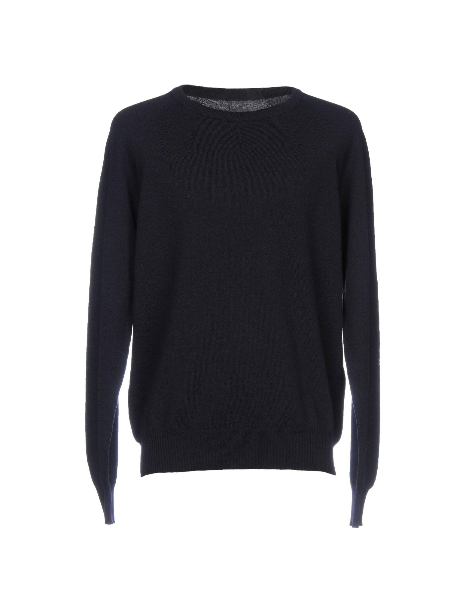 Maison Margiela Sweater In Dark Blue
