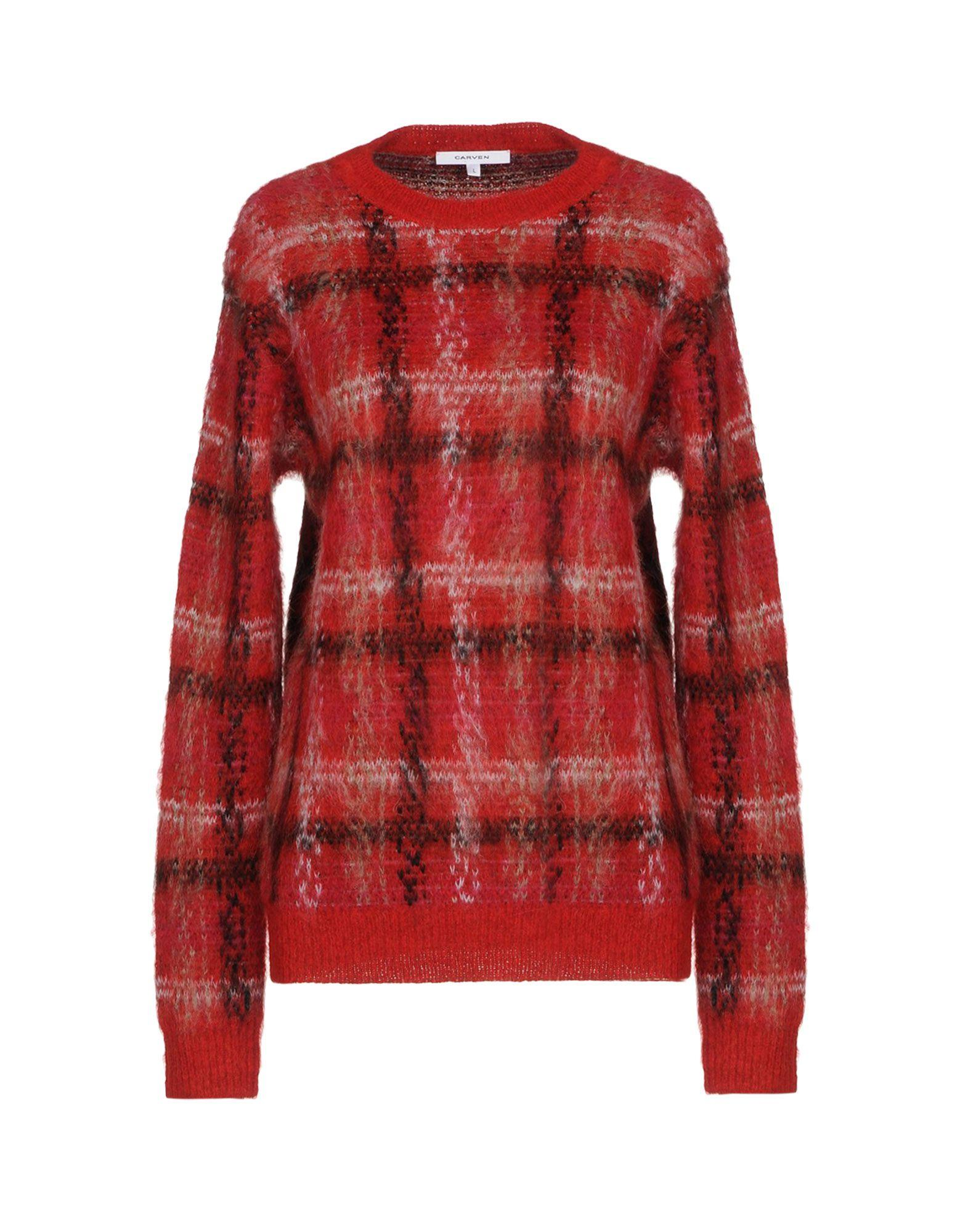 Carven Sweater In Brick Red