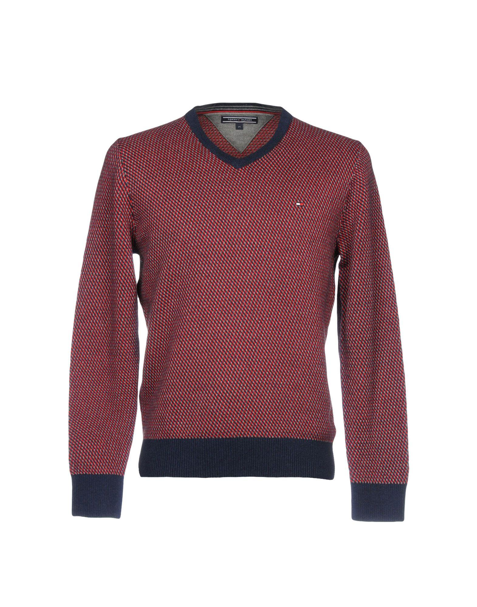 Tommy Hilfiger Sweater In Red
