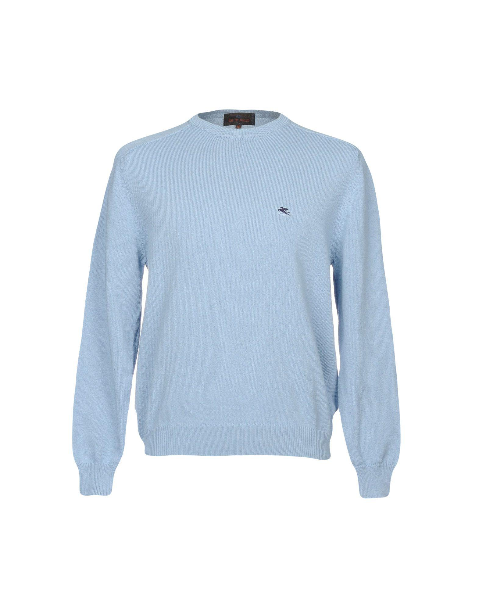 Etro Sweaters In Pastel Blue