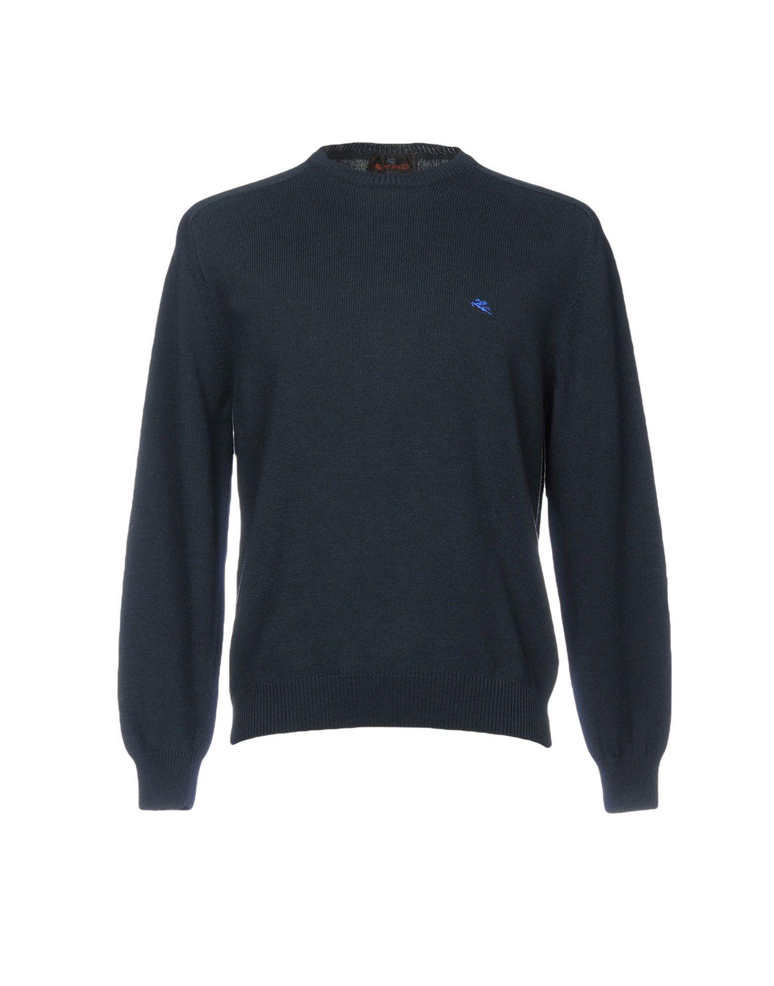 Etro Sweater In Dark Blue