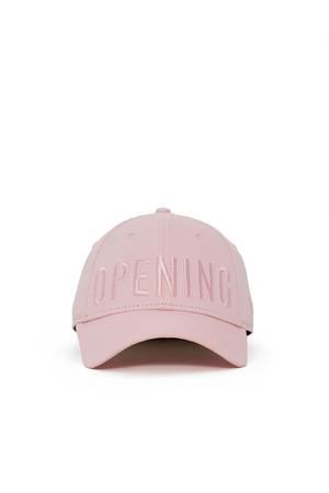 Opening Ceremony Satin Stitch Logo Cap In Pearl Pink