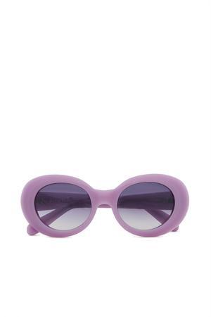 Acne Studios Opening Ceremony Mustang Sunglasses In Violet/purple Degrad