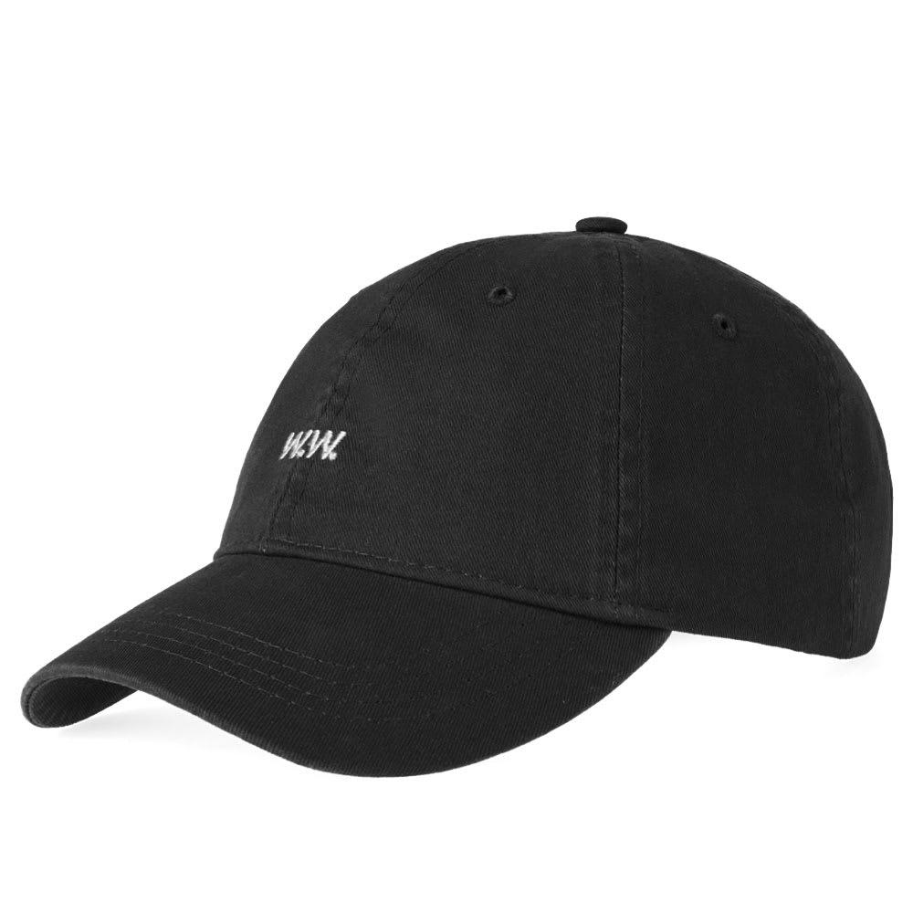 Wood Wood Low Profile Cap In Black