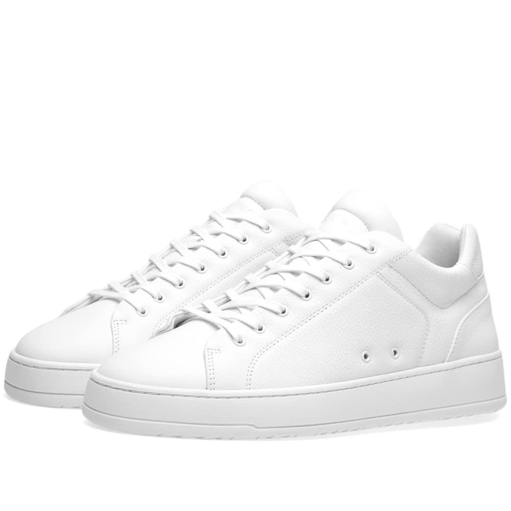 Etq. Low Top 4 Sneaker In White