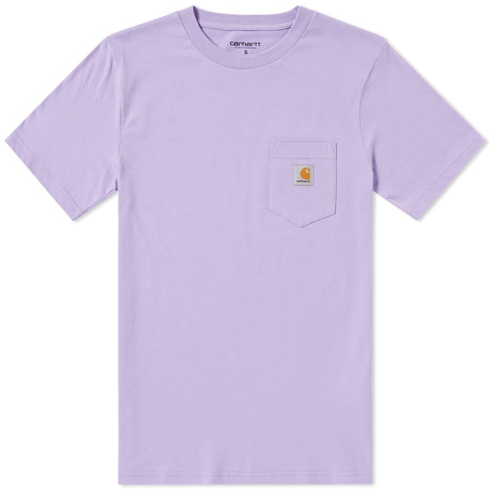 Carhartt Pocket Tee In Purple