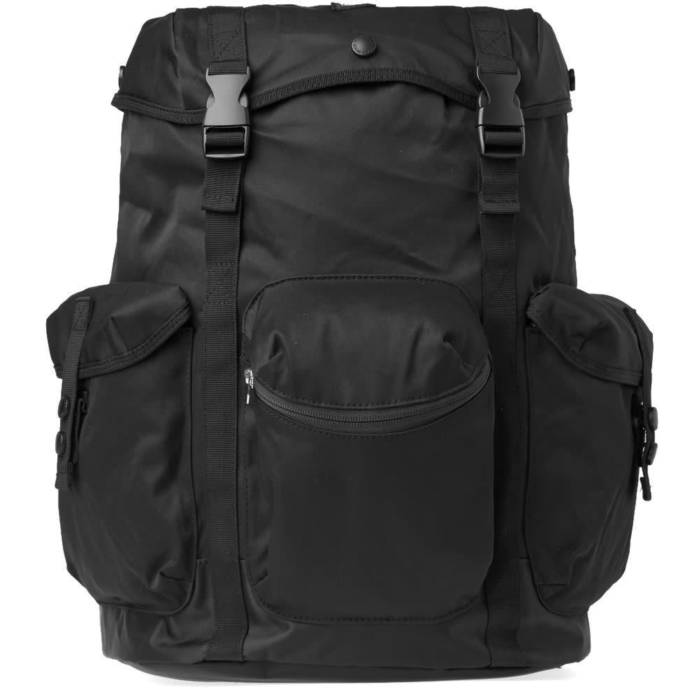 Wood Wood Mills Backpack In Black