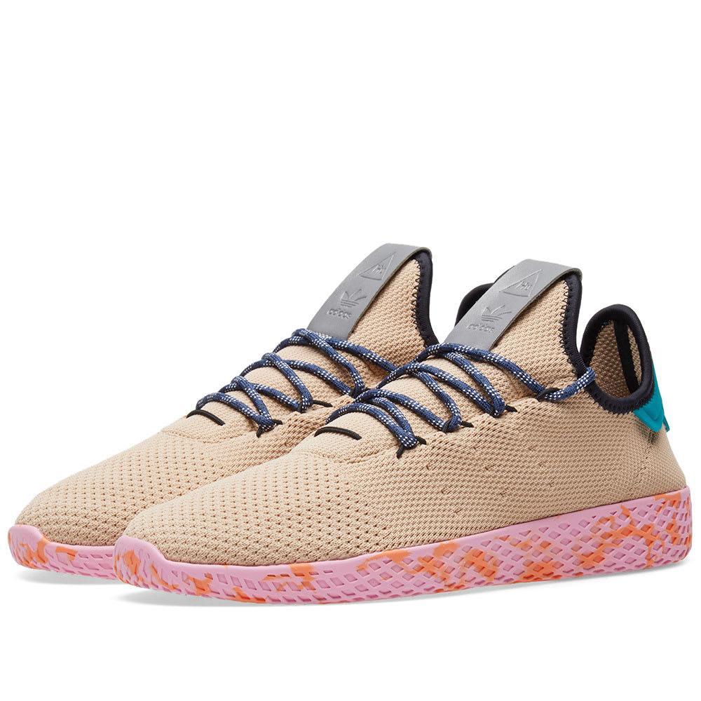 Adidas Originals Adidas X Pharrell Williams Tennis Hu In Pink