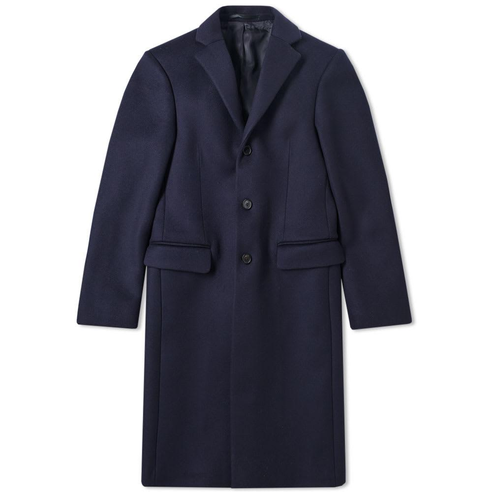 Acne Studios Gavin Coat In Blue