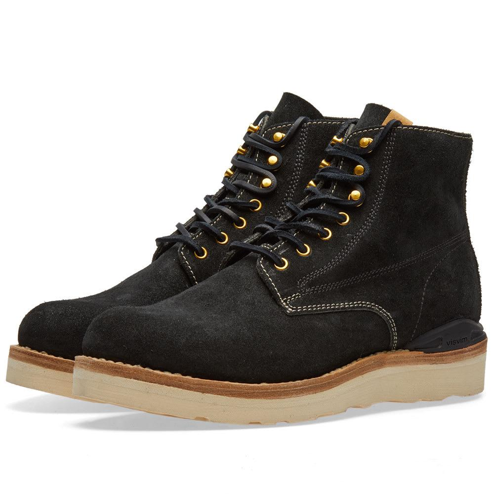 Visvim Virgil Folk In Black