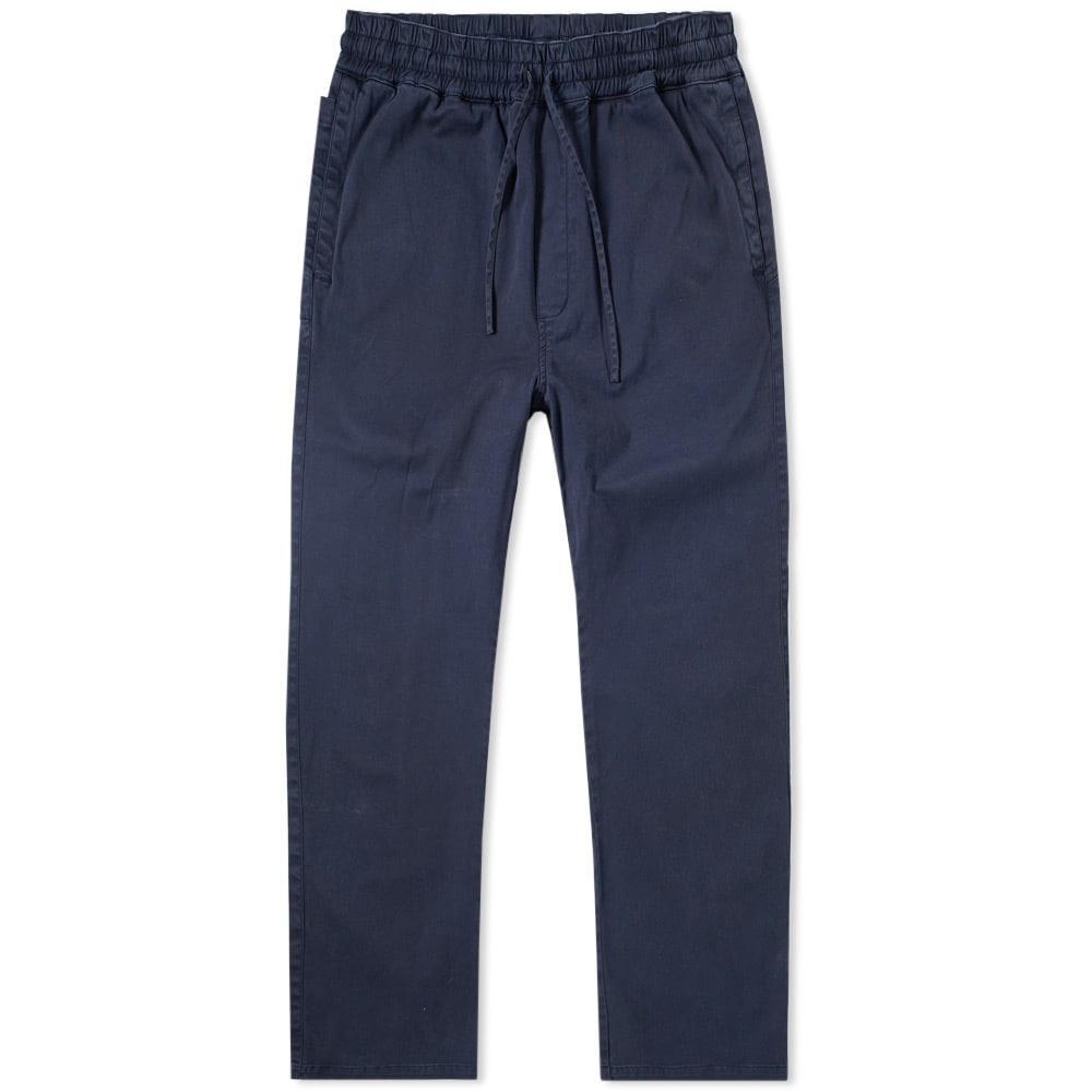 Ymc You Must Create Ymc Twill Alva Pant In Blue