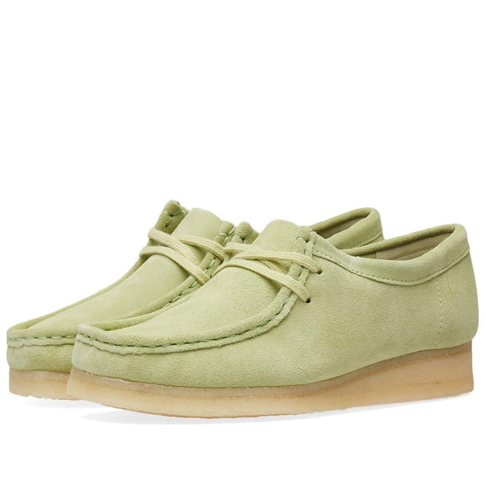 Clarks Originals Wallabee W In Green
