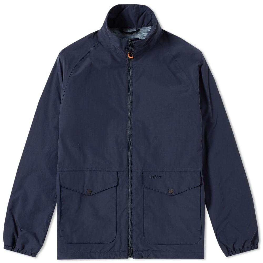 Barbour Dee Jacket In Blue