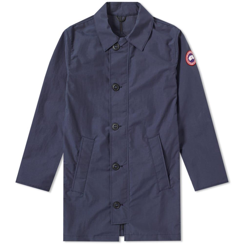Canada Goose Wainwright Coat In Blue