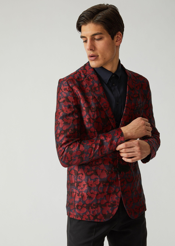 Emporio Armani Fashion Jackets - Item 41783611 In Pattern