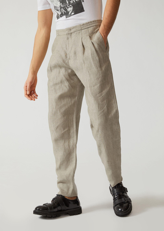 Emporio Armani Casual Pants - Item 13156180 In Beige