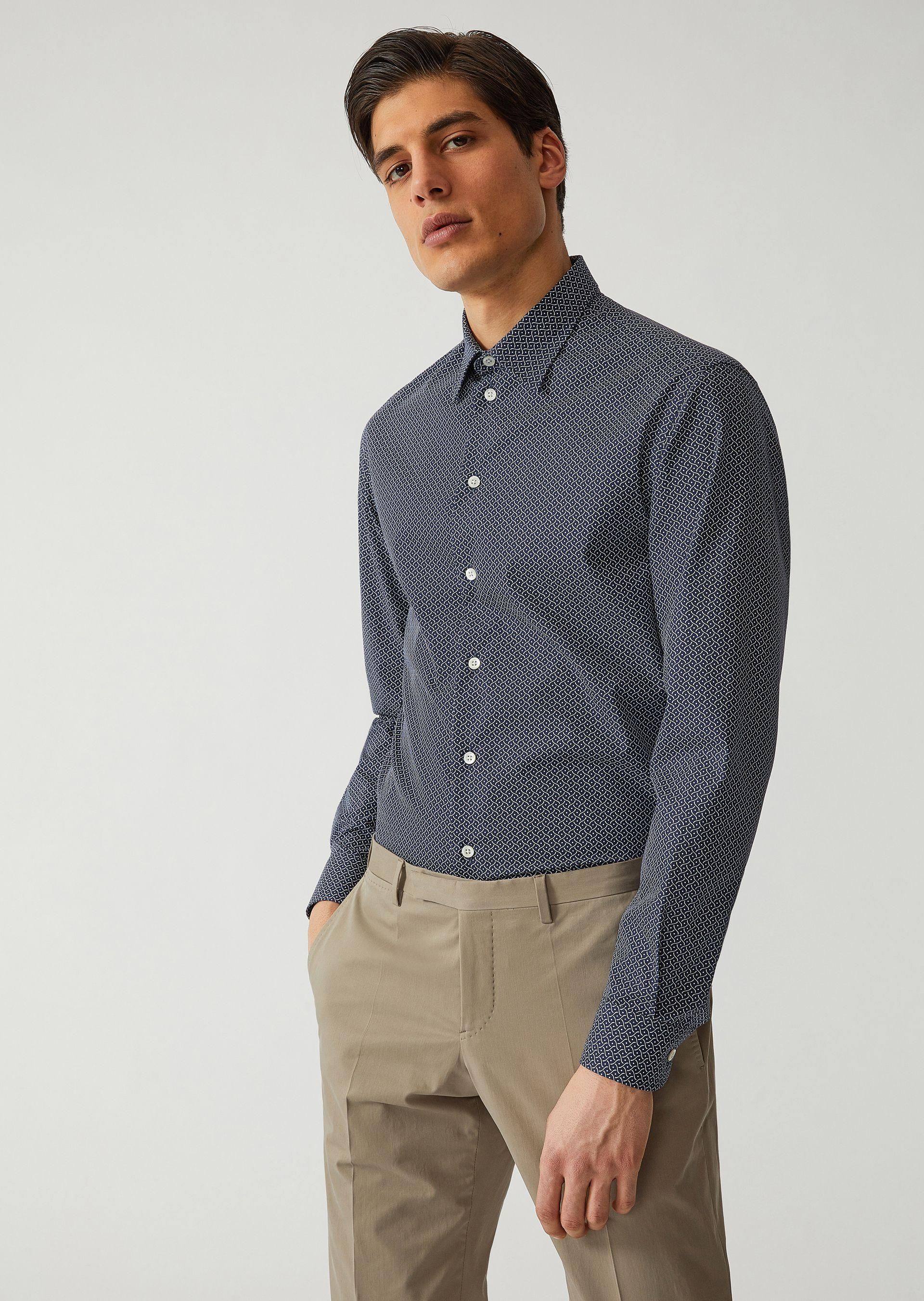 Emporio Armani Casual Shirts - Item 38719732 In Pattern