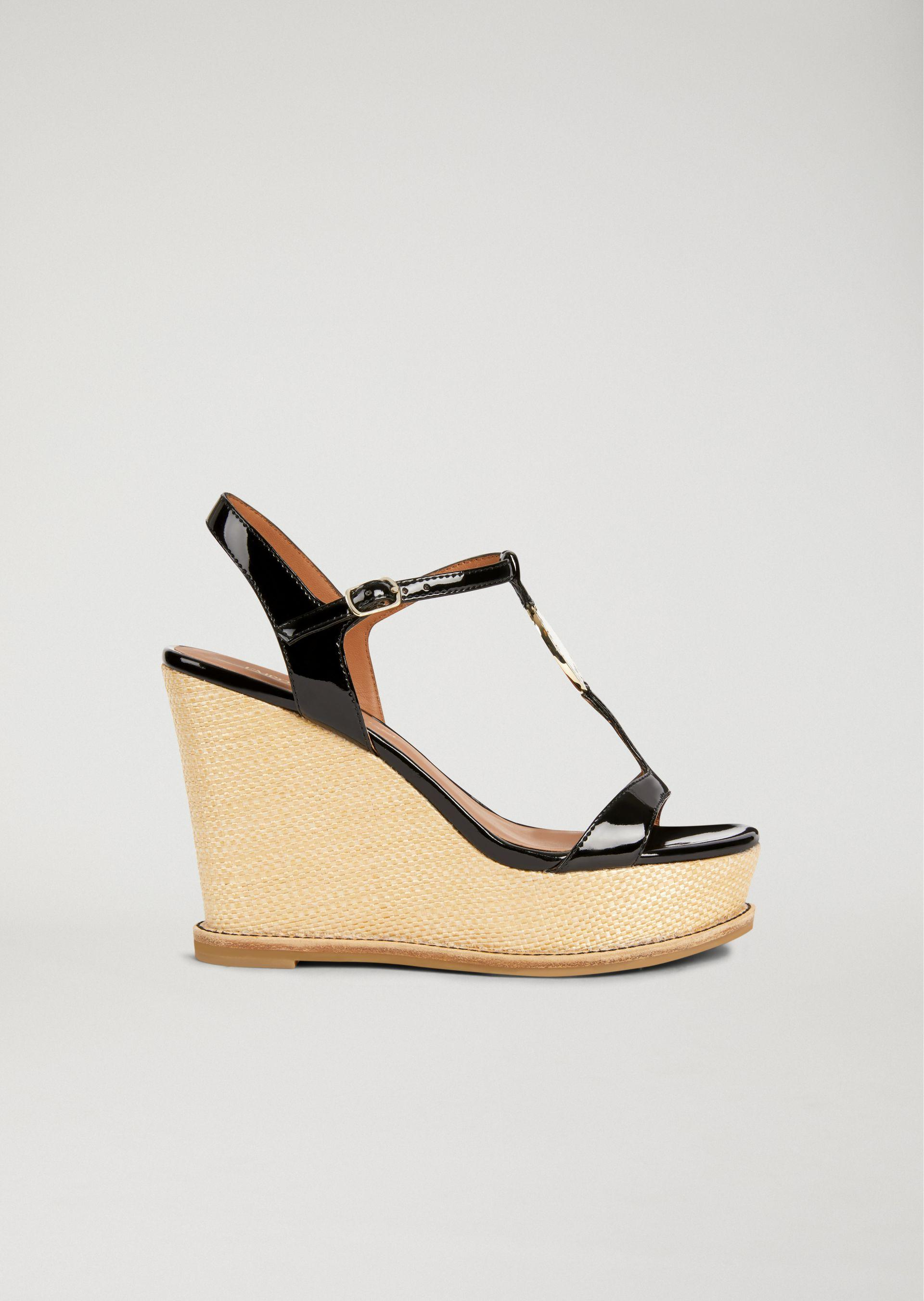 Emporio Armani Wedges - Item 11425926 In Black ; Red ; White