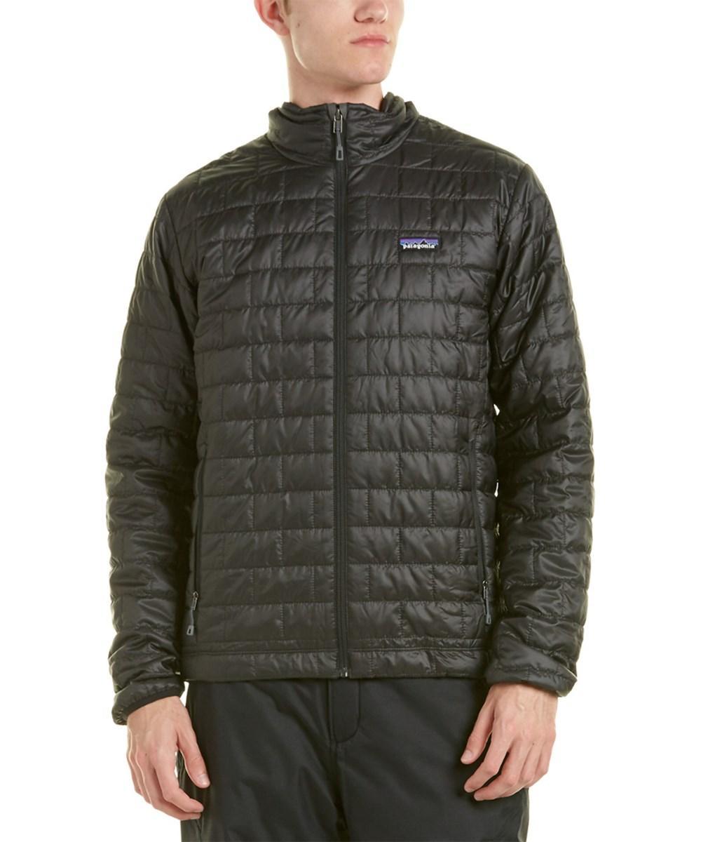 Patagonia Nano Puff Jacket In Black