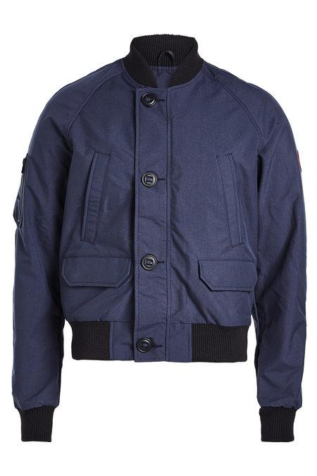 Canada Goose Faber Bomber Jacket In Blue