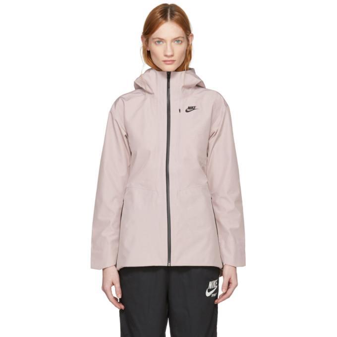 Nike Sportswear Tech Jacket In Pink