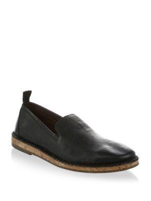 8822d7d6100 John Varvatos Zander Leather Slip-On Loafer In Black Black