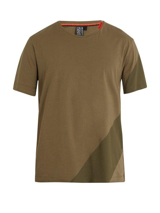 P.e Nation - The Up Shot Crew Neck T Shirt - Mens - Khaki