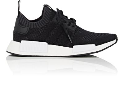 new product d99f8 4dc7d Adidas Originals Nmd R2 Cashmere-Wool Primeknit Sneakers In Black