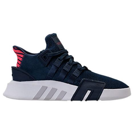 brand new 20e1c 86cfa Adidas Men's Originals Eqt Basketball Knit Og Off-Court Sneakers From  Finish Line in Blue